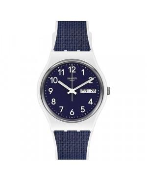 Elegancki zegarek damski SWATCH Gent GW715 NAVY LIGHT