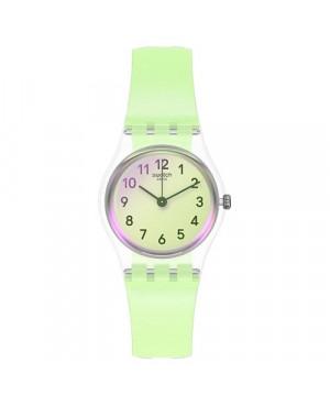Modowy zegarek damski SWATCH Originals Lady LK397 CASUAL GREEN