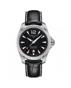 Szwajcarski, sportowy zegarek męski Certina DS Action Fixed Bezel C032.851.16.057.01 (C0328511605701)