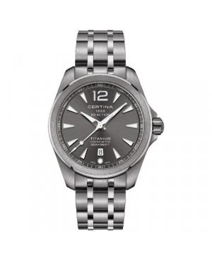 Szwajcarski, sportowy zegarek męski Certina DS Action Fixed Bezel C032.851.44.087.00 (C0328514408700)