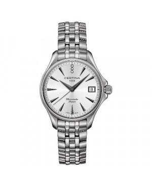 Szwajcarski, klasyczny zegarek damski Certina DS Action Lady Diamonds C032.051.44.036.00 (C0320514403600)