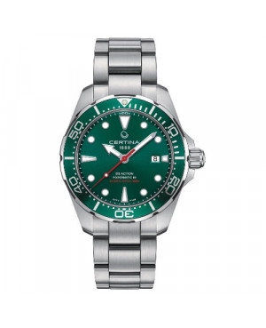 Szwajcarski zegarek męski do nurkowania Certina DS Action Diver Powermatic 80 C032.407.11.091.00 (C0324071109100)