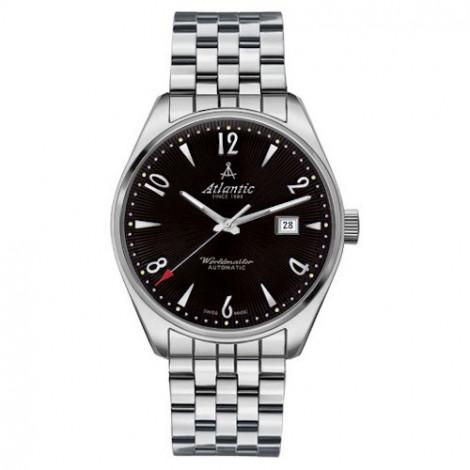 Klasyczny zegarek męski, szwajcarski ATLANTIC Worldmaster Art Deco 51752.41.65SM (517524165SM)