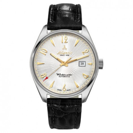 Szwajcarski, klasyczny zegarek męski Atlantic Worldmaster 51751.41.25G (517524125G)
