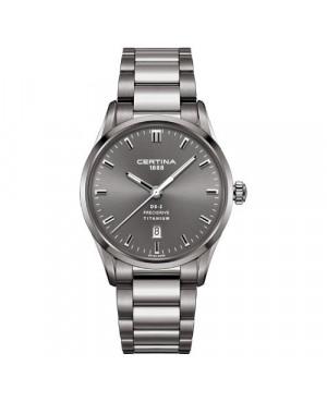 Szwajcarski, klasyczny zegarek męski Certina DS-2 Gent C024.410.44.081.20 (C0244104408120)