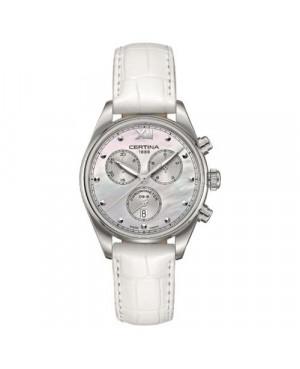 Szwajcarski, klasyczny zegarek damski Certina DS-8 Lady Chronograph C033.234.16.118.00 (C0332341611800)