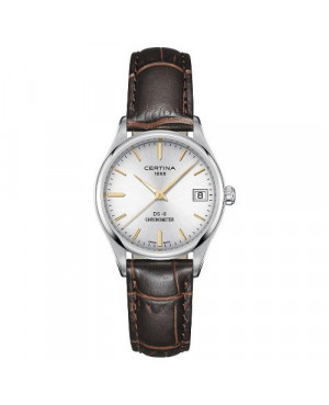 Szwajcarski, klasyczny zegarek damski Certina DS-8 Lady 30 mm C033.251.16.031.01 (C0332511603101)