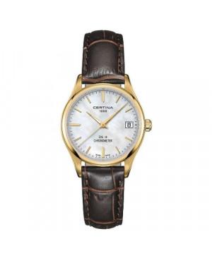 Szwajcarski, klasyczny zegarek damski Certina DS-8 Lady 30 mm C033.251.36.111.00 (C0332513611100)