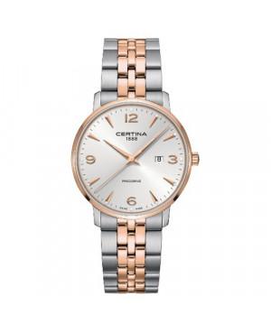 Szwajcarski, klasyczny zegarek męski CERTINA DS Caimano Gent C035.410.22.037.01 (C0354102203701)