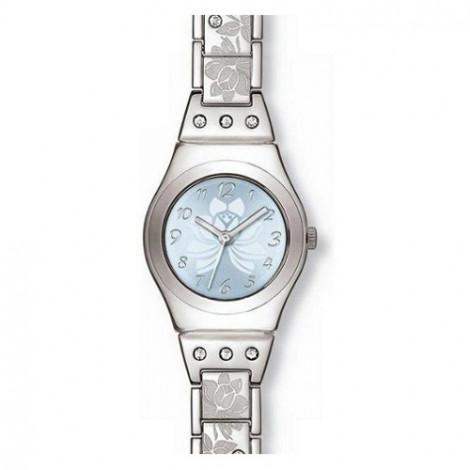 Szwajcarski, modowy zegarek damski SWATCH Irony Lady YSS222G FLOWER BOX
