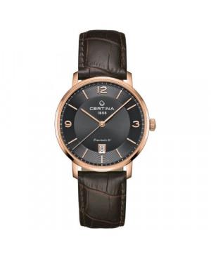 Szwajcarski, klasyczny zegarek męski CERTINA DS Caimano Powermatic 80 C035.407.36.087.00 (C0354073608700)