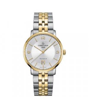 Szwajcarski, klasyczny zegarek męski CERTINA DS Caimano Powermatic 80 C035.407.22.037.02 (C0354072203702)