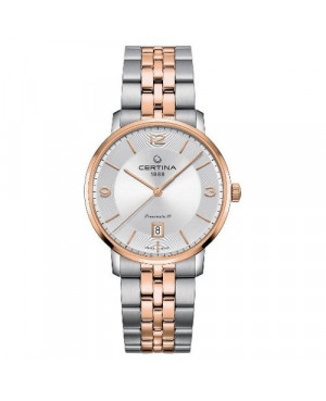 Szwajcarski, klasyczny zegarek męski CERTINA DS Caimano Powermatic 80 C035.407.22.037.01 (C0354072203701)