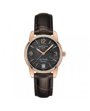 Szwajcarski, klasyczny zegarek damski Certina DS Podium Lady 33 mm C034.210.36.127.00 (C0342103612700)