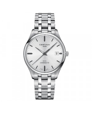 Szwajcarski klasyczny zegarek męski Certina DS-8 Gent C033.451.11.031.00 (C0334511103100)