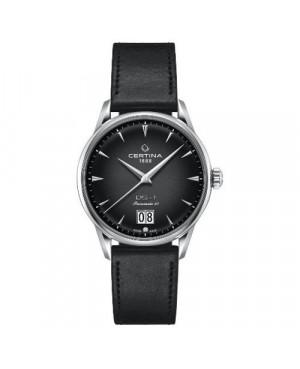 Szwajcarski, klasyczny zegarek męski CERTINA DS-1 Big Date Powermatic 80 C029.426.16.051.00 (C0294261605100)