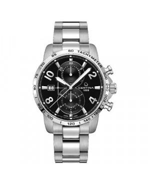 Szwajcarski, sportowy zegarek męski Certina DS Podium Chronograph Automatic C034.427.11.057.00 (C0344271105700)
