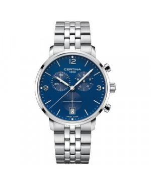 Szwajcarski, sportowy zegarek męski Certina DS Caimano Chrono C035.417.11.047.00 (C0354171104700)
