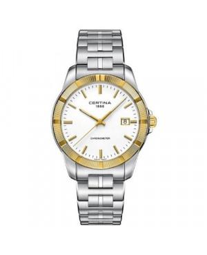 Szwajcarski, elegancki zegarek męski Certina DS Jubile Gent C902.451.41.011.00 (C9024514101100)