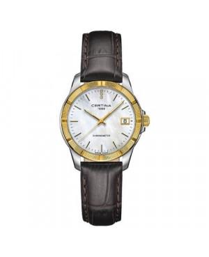 Szwajcarski, klasyczny zegarek damski CERTINA DS Jubile Lady C902.251.46.016.00 (C9022514601600)