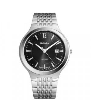 Szwajcarski, elegancki zegarek męski ADRIATICA A8296.5156Q (A82965156Q
