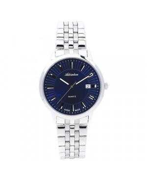 Szwajcarski, elegancki zegarek męski ADRIATICA A8164.5115Q (A81645115Q)