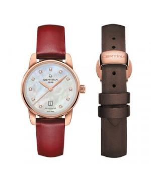 Szwajcarski, kasyczny zegarek damski CERTINA DS Podium Lady Automatic C001.007.36.116.02 (C0010073611602)