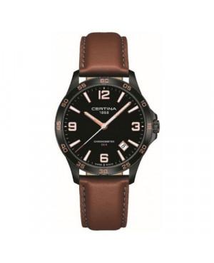 Szwajcarski, sportowy zegarek męski CERTINA DS 8 Gent C033.851.36.057.00 (C0338513605700)