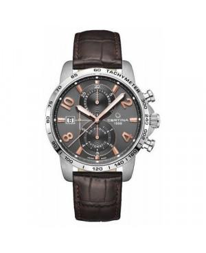 Szwajcarski, sportowy zegarek męski Certina DS Podium Chronograph Automatic C034.427.16.087.01 (C0344271608701)
