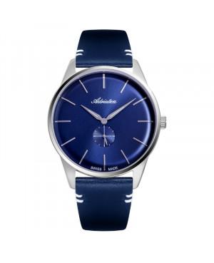 Szwajcarski, elegancki zegarek męski Adriatica A8264.5215Q (A82645215Q).