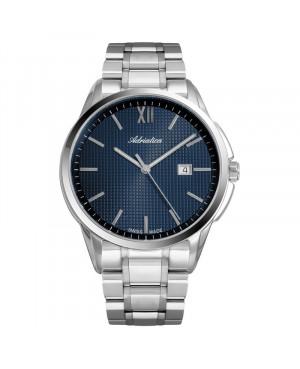 Szwajcarski, klasyczny zegarek męski Adriatica A1290.5165Q (A12905165Q)