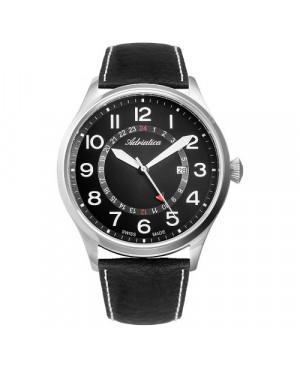 Szwajcarski, lotniczy zegarek męski ADRIATICA Aviator A8267.5224Q1 (A82675224Q1)