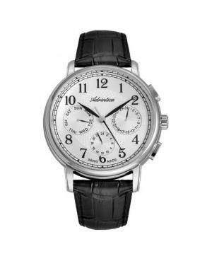 Szwajcarski, klasyczny zegarek męski ADRIATICA A8256.5223QFXL (A82565223QFXL)L)