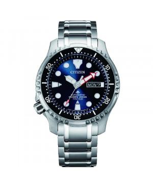 Sportowy zegarek męski CITIZEN Promaster Diver Automatic NY0100-50ME (NY010050ME)