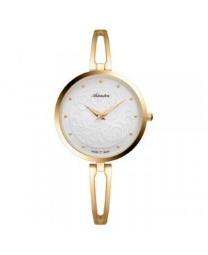 Szwajcarski, biżuteryjny zegarek damski ADRIATICA A3746.1143Q (A37461143Q)