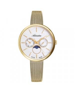 Szwajcarski, klasyczny zegarek damski ADRIATICA A3732.1113QF (A37321113QF)