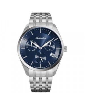 Szwajcarski, elegancki zegarek męski ADRIATICA A8309.5115QF (A83095115QF)