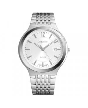 Szwajcarski, elegancki zegarek męski ADRIATICA A8296.5153Q (A82965153Q)