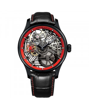 zegarek męski Aerowatch Renaissance Skeleton SPIDER 50981 NO21 (50981NO21)