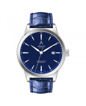 Klasyczny zegarek męski ATLANTIC Worldmaster 52759.41.51S (527594151S)