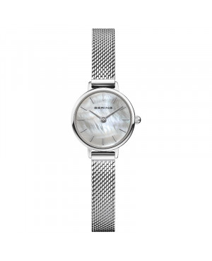 Biżuteryjny, zegarek damski BERING Classic Collection 11022-004 (11022004)