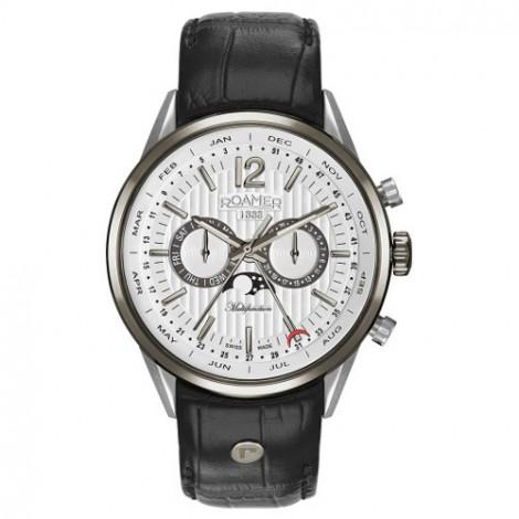 Szwajcarski zegarek męski ROAMER Superior Business Multifunction 508822 40 14 05