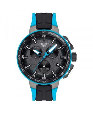 Sportowy zegarek męski TISSOT T-Race Cycling Chronograph T111.417.37.441.05 (T1114173744105)