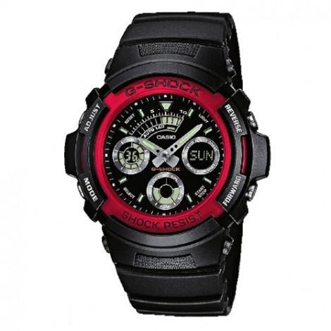 Sportowy zegarek męski Casio G-Shock AW-591-4AER (AW5914AER)