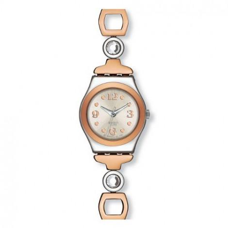 Szwajcarski, modowy zegarek damski SWATCH Irony YSS234G LADY PASSION