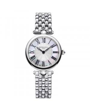 Szwajcarski klasyczny zegarek damski FREDERIQUE CONSTANT Classic Art Deco Round FC-200MPW2AR6B (FC200MPW2AR6B)