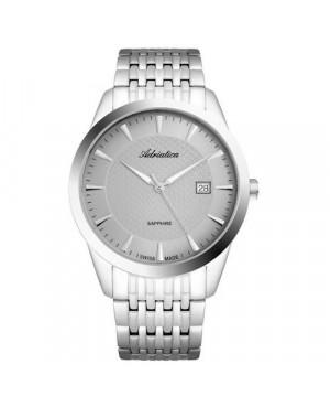Szwajcarski, elegancki zegarek męski ADRIATICA A1288.5117Q (A12885117Q).