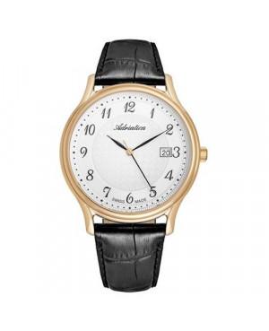 Szwajcarski, klasyczny zegarek męski ADRIATICA A8000.1223Q (A80001223Q)