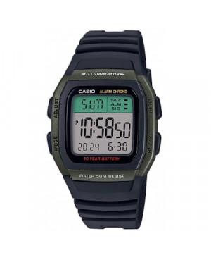 Sportowy zegarek męski CASIO Collection W-96H-3AVEF (W96H3AVEF)