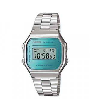 Sportowy zegarek męski CASIO Vintage A168WEM-2EF (A168WEM2EF)